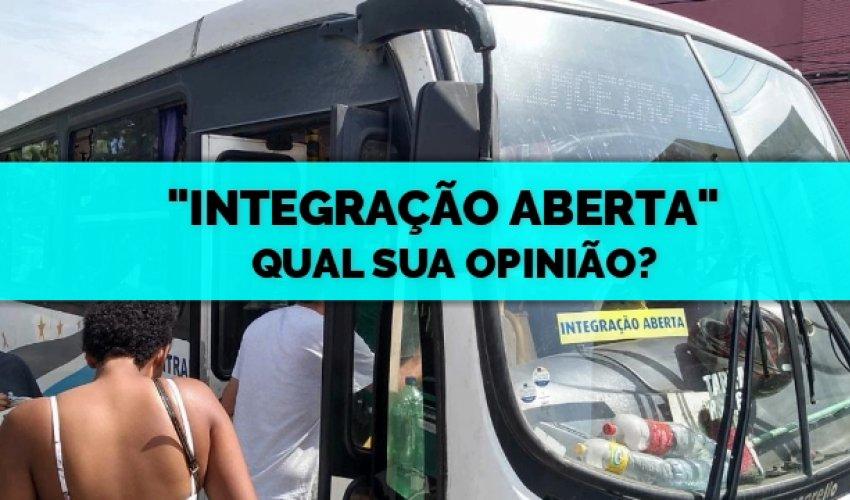 [O CN quer saber sua opinião sobre o novo sistema de integração de ônibus]
