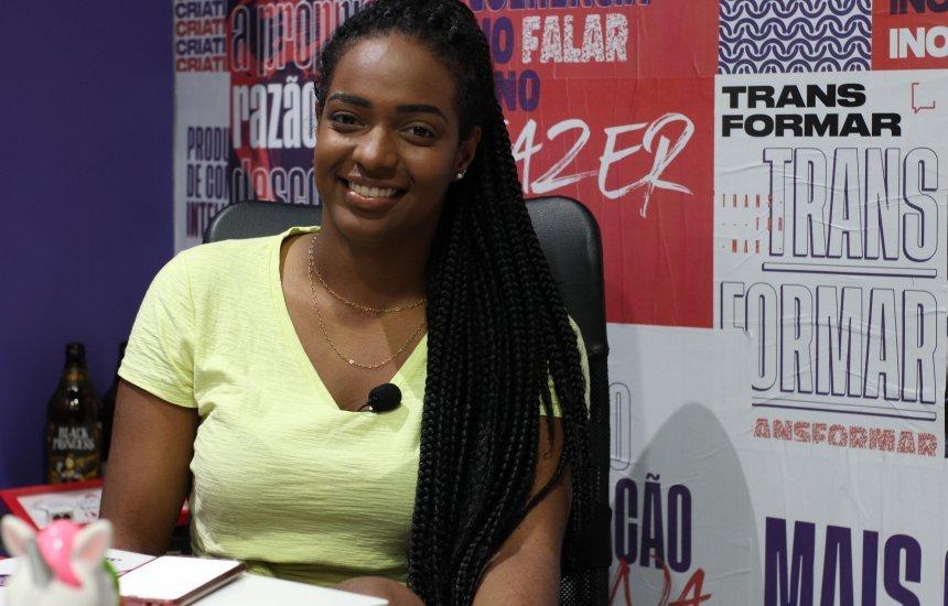 [Vitória Adriele e os desafios de uma jovem mulher negra no mundo dos negócios]
