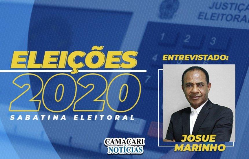 [Josué Marinho responde perguntas na sabatina do CN1]