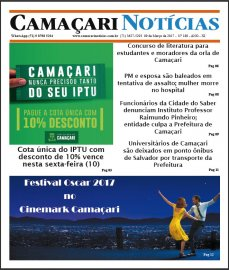 [Fique bem informado com a edição 189 do jornal impresso Camaçari Notícias]