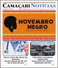 [Edição 207 do jornal impresso Camaçari Notícias homenageia o Novembro Negro]