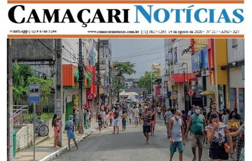 [Em circulação edição 217 do jornal impresso Camaçari Notícias]