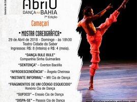 [Mostra de Dança em Camaçari encerra atividades da 7ª edição do Abriu Dança]