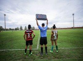[Camaçari sedia jogo de ida da Final do Campeonato Baiano de Futebol Feminino]