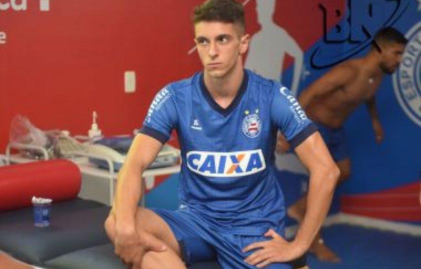 [Emprestado pelo São Paulo, Shaylon é anunciado oficialmente pelo Bahia]