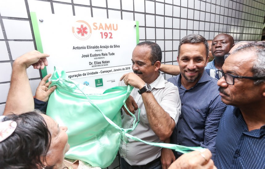 [Nova Central de Regulação e Base do SAMU é inaugurada em Camaçari]