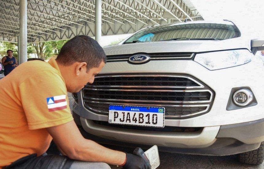 [Bahia: MP apura irregularidades nas placas Mercosul]