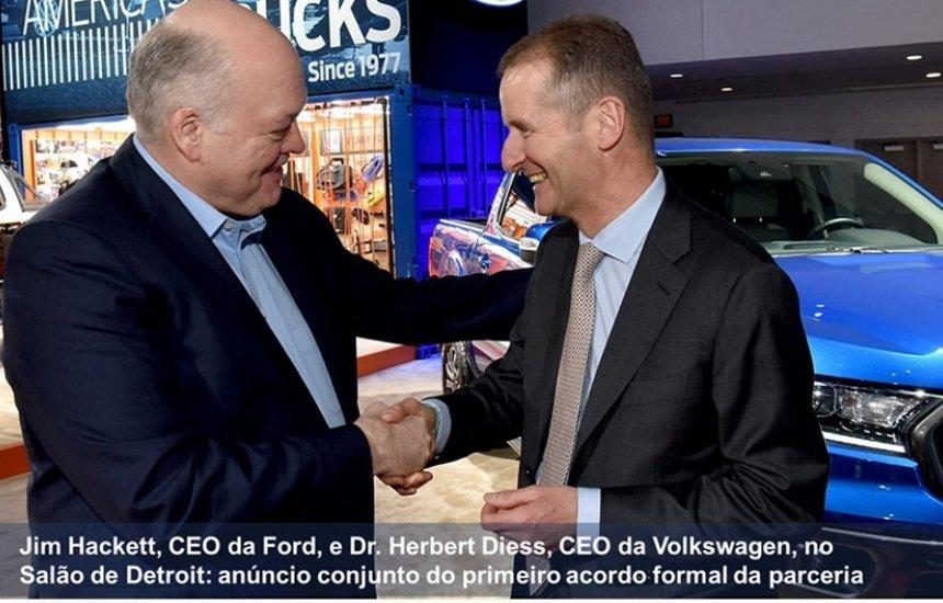 [Volkswagen AG e Ford Motor Company Iniciam Aliança Global]