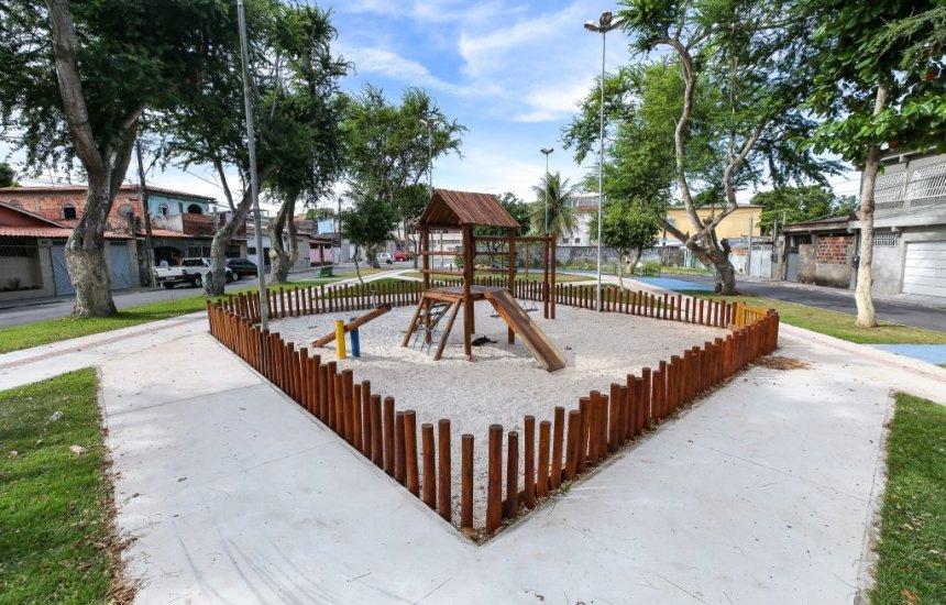 [Praça Maria Eulina será reinaugurada nesta terça-feira (22), na Gleba B]