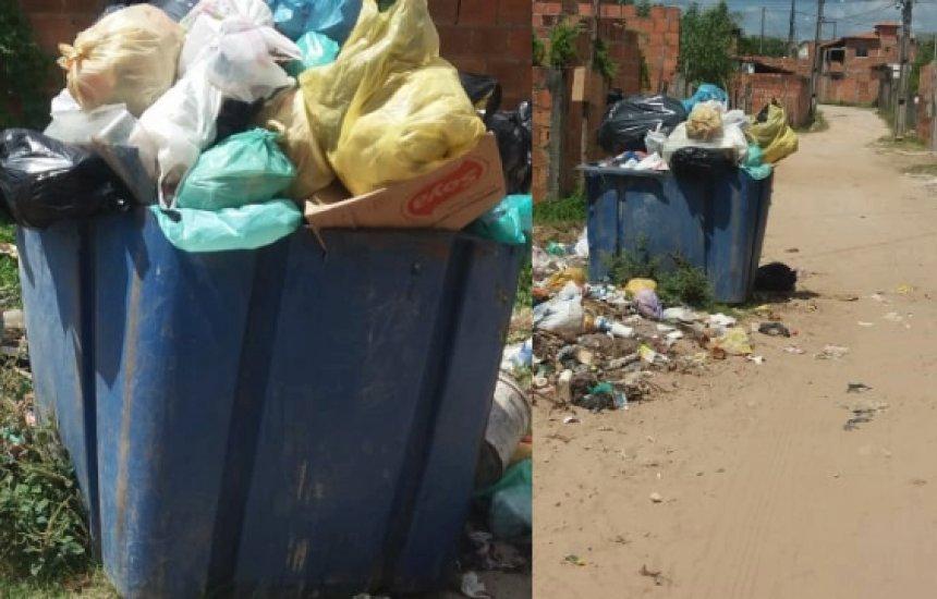 [Buri Satuba: Falta coleta de lixo, asfalto e iluminação relata leitora]