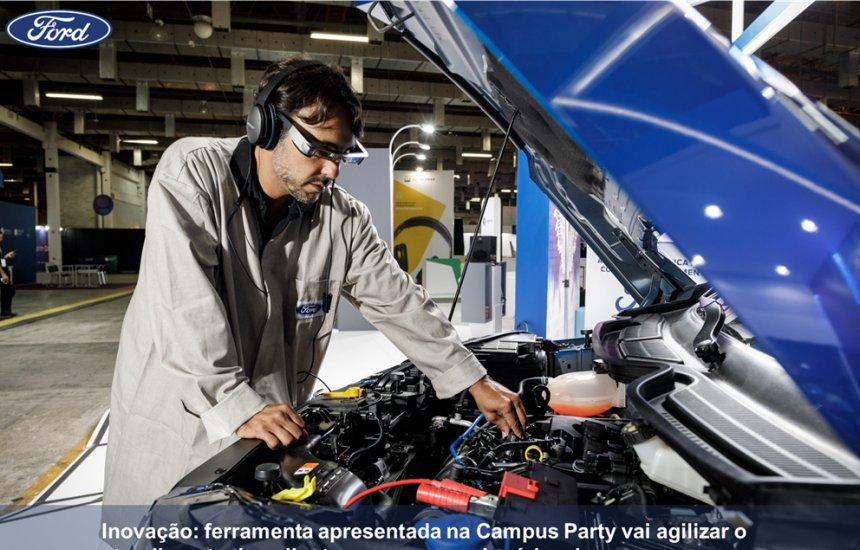 [Ford será a 1ª na América Latina a usar a realidade aumentada em serviços]