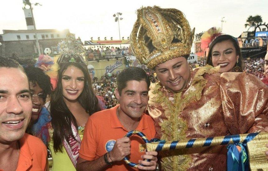 [Concurso escolhe amanhã Rei Momo do carnaval de Salvador]
