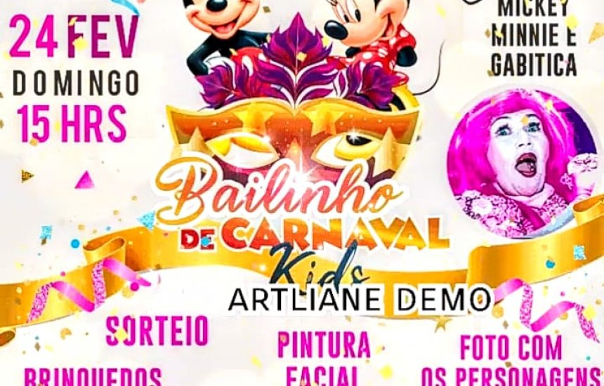 [Bailinho de Carnaval no Clube Social neste domingo as 15h]