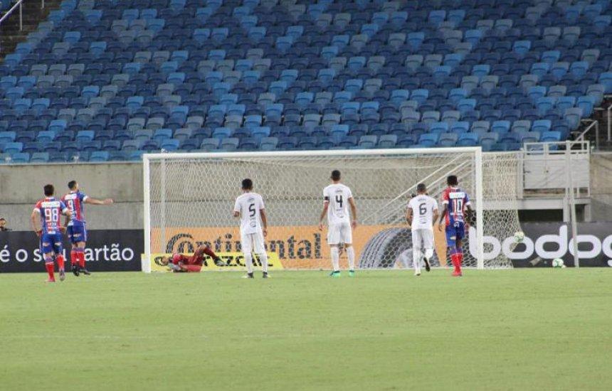 [Com gol de pênalti, Bahia vence Santa Cruz-RN e vai à 3ª fase na Copa do Brasil]