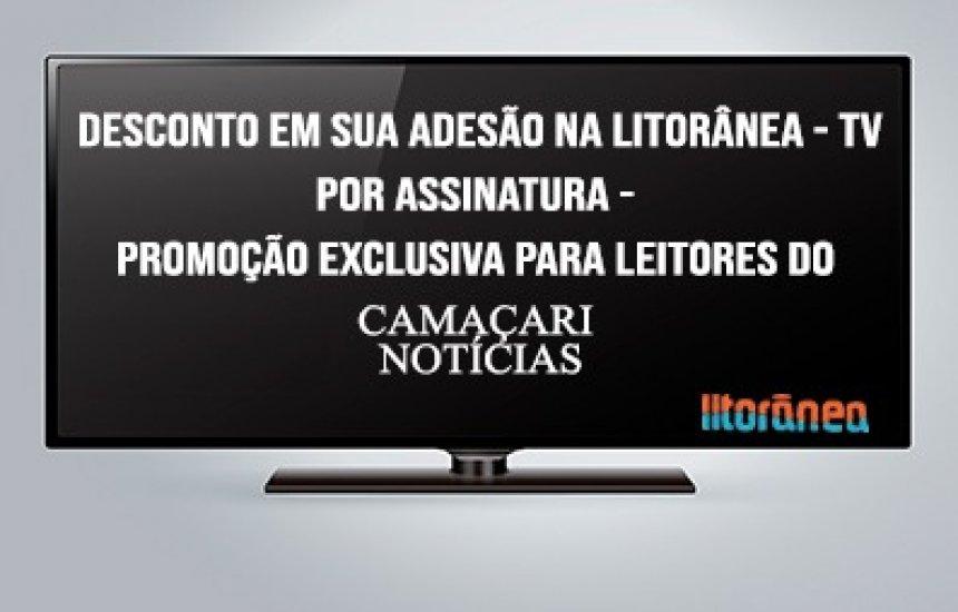Leitores do Camaçari Notícias tem desconto na adesão da TV a Cabo