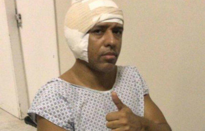[MC Koringa recebe alta médica após retirada de tumor]