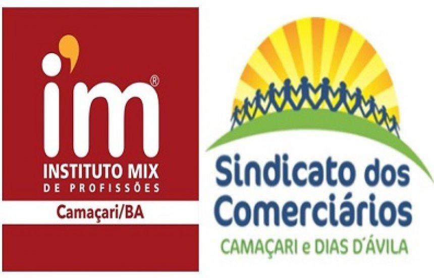 [Instituto Mix de Camaçari afirma parceria com Sindicato dos Comerciários]