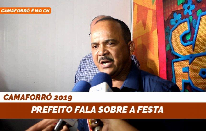 [Prefeito Elinaldo fala das atividades do São João em Camaçari]