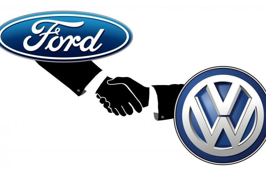 [Ford e Volkswagen trabalharão juntas em carros elétricos e autônomos]