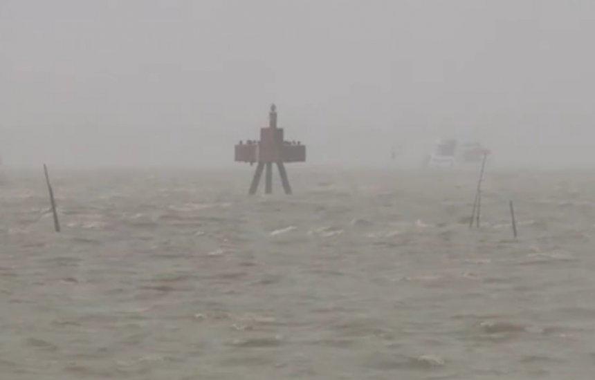[Marinha divulga alerta de ventos de até 74 km/h no sul da Bahia]