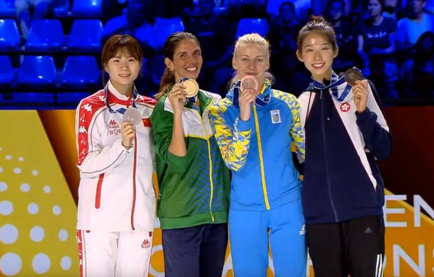 [Brasil conquista título mundial de esgrima pela 1ª vez]