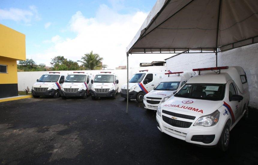 [Rui entrega ambulâncias e reforça sistema de saúde no sul da Bahia]