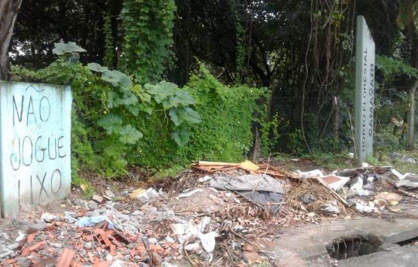 [Leitora denuncia abandono no Horto Florestal de Camaçari]