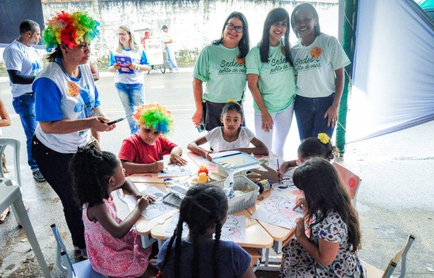 [Programa Primeira Infância atende 153 crianças no bairro Cristo Redentor]
