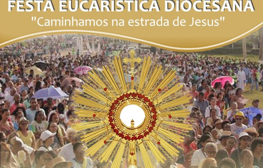 [Diocese de Camaçari realiza caminhada para celebrar Festa Eucarística]