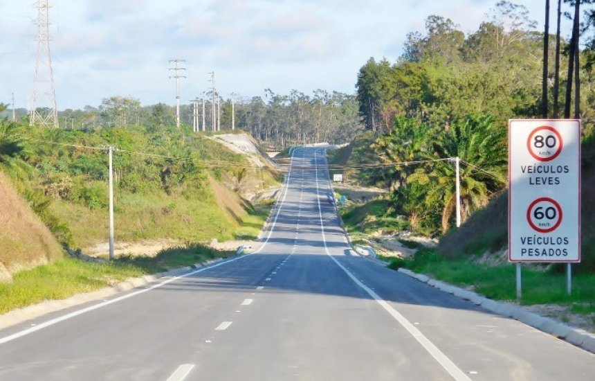 [Bahia Norte informa sobre obras na Via Parafuso]