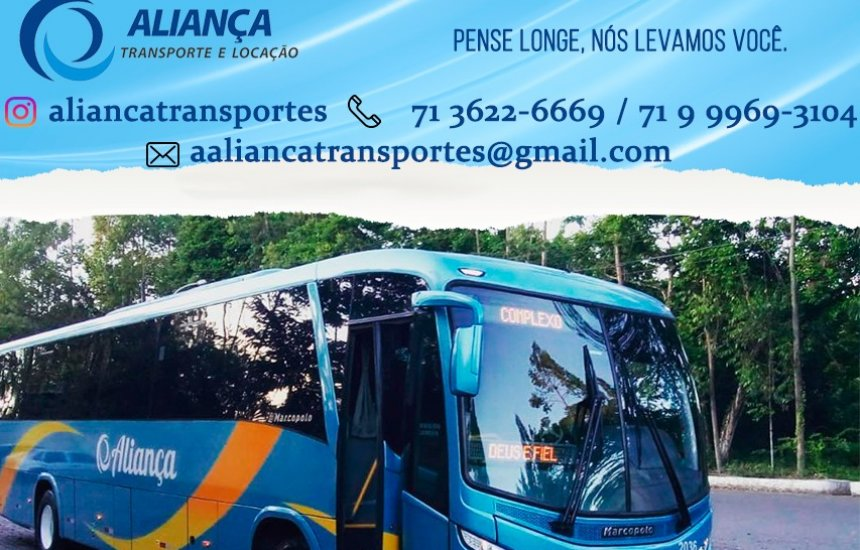 [Conheça a Aliança Transportes. Sua melhor opção em fretamento e turismo !]