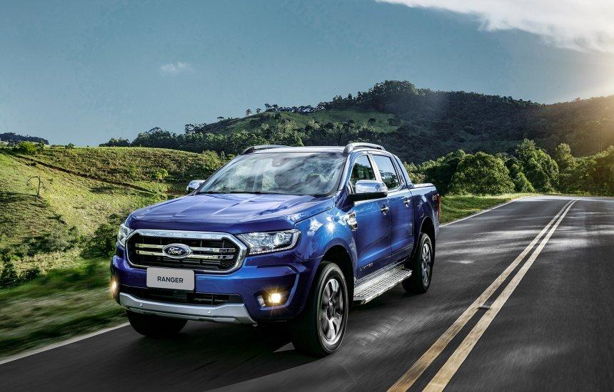 [Ford Ranger vence os prêmios Americar e AutoData de melhor picape]