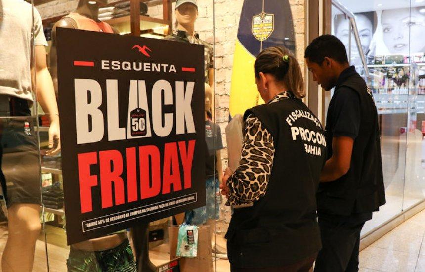 [Procon-BA inicia fiscalização em Salvador para a Black Friday]