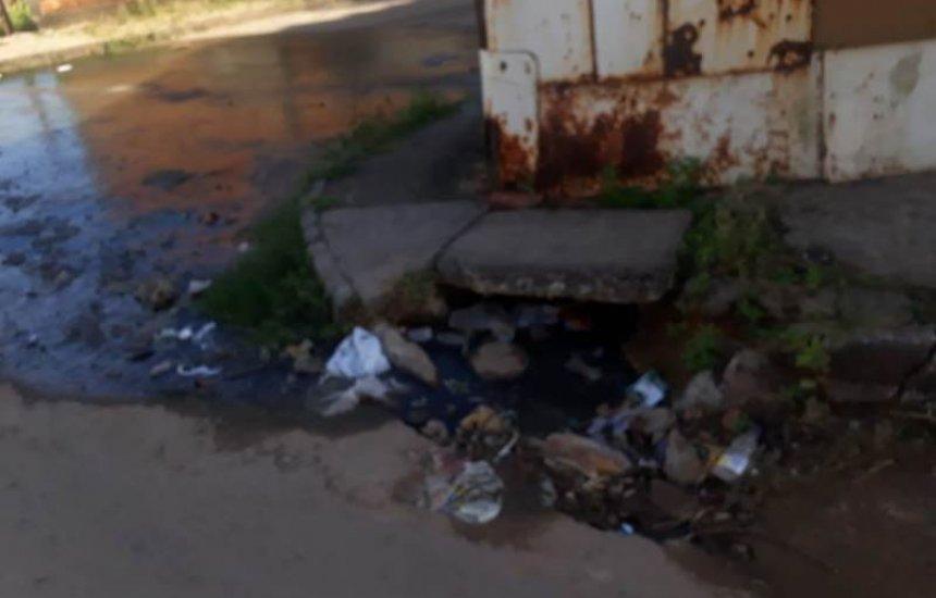 [Seu Bairro no CN: moradora reclama de vazamento de esgoto e lixo na Gleba H]