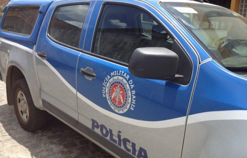 [Homem é preso em flagrante no bairro Camaçari de Dentro]