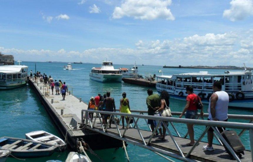 [Em véspera de feriado, travessia Salvador-Mar Grande terá 10 embarcações]