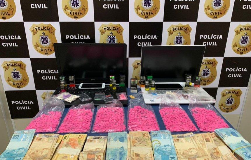 [Homem é preso suspeito de vender anabolizantes e drogas sintéticas]