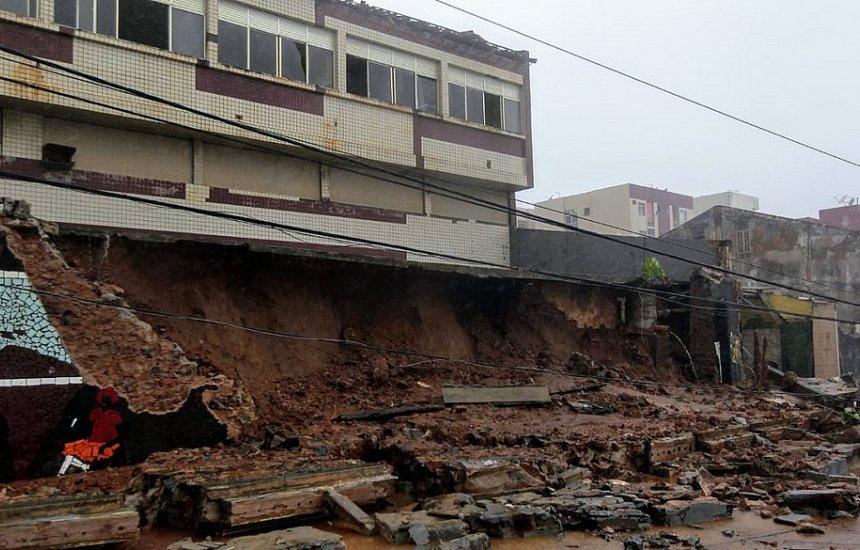 [Salvador: Sobe para nove número de localidades com sirene de risco acionada]