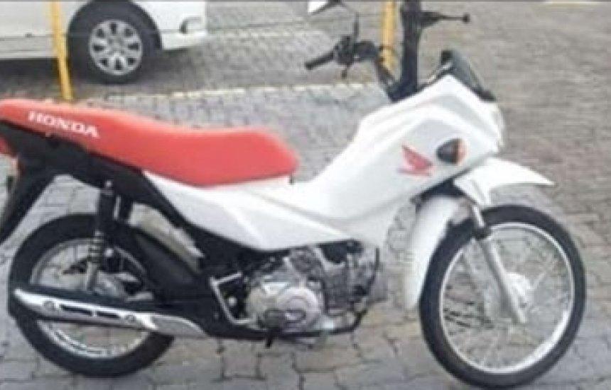 [Motocicleta Pop 110 é tomada de assalto em Camaçari]