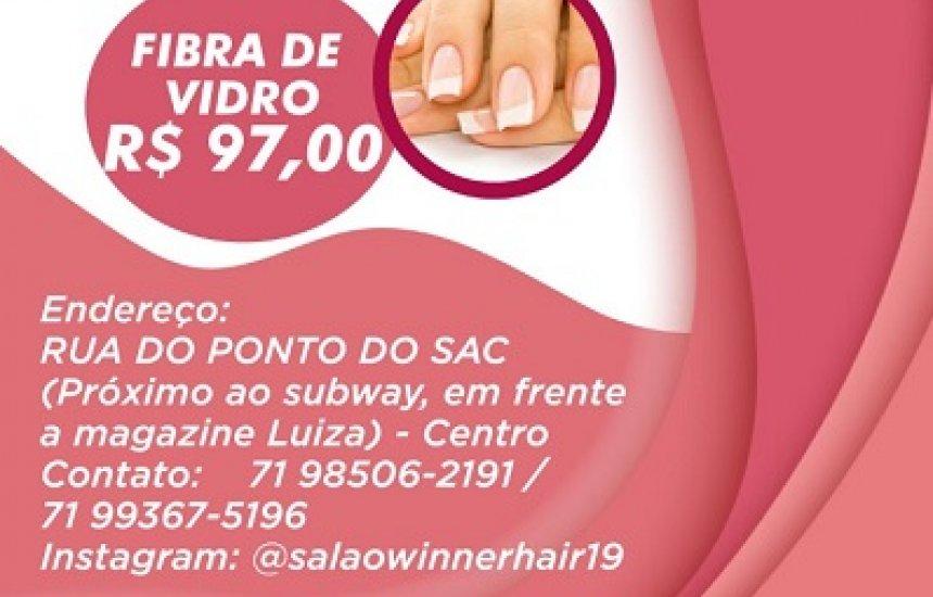 Super Promoção Salão Winner Hair faça qualquer serviço e concorra ao IPHONE