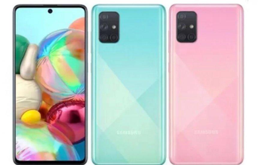 Samsung lança novos Galaxy A51 e A71; confira as especificações