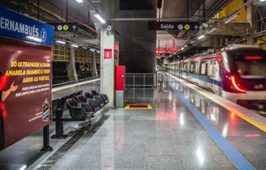 [Homens armados roubam pertences de passageiro no metrô de Salvador]