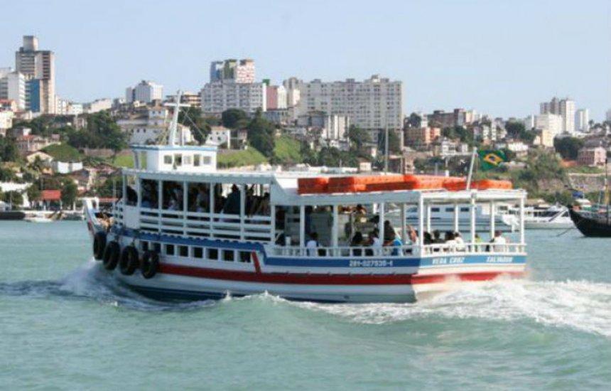 [Embarque no retorno da Ilha é intenso na travessia Salvador-Mar Grande]