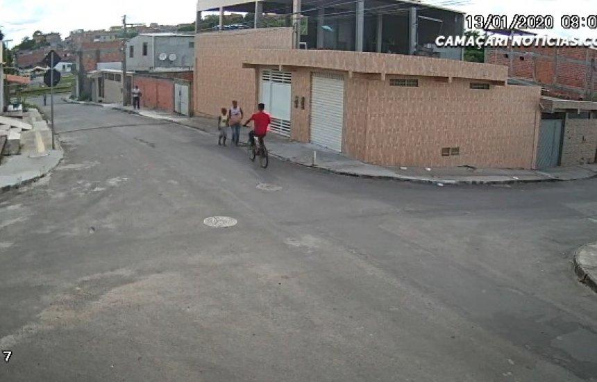 [Câmeras flagram assalto no Parque Verde I; vídeo]