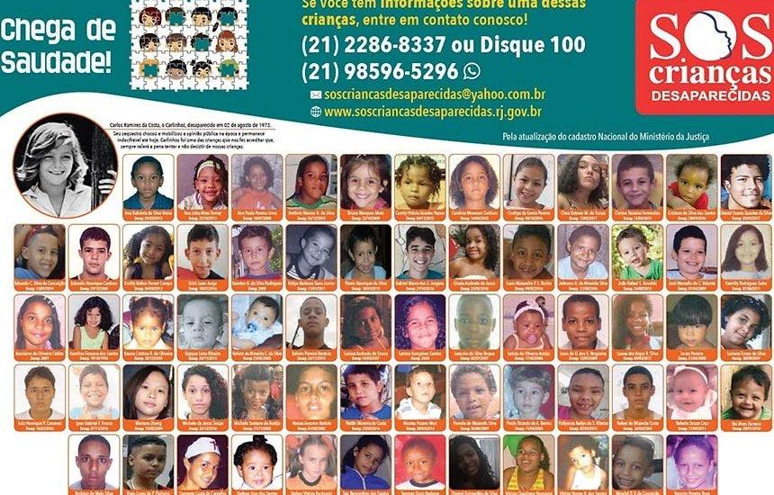 [Projeto pode ampliar divulgação de informações sobre crianças desaparecidas]