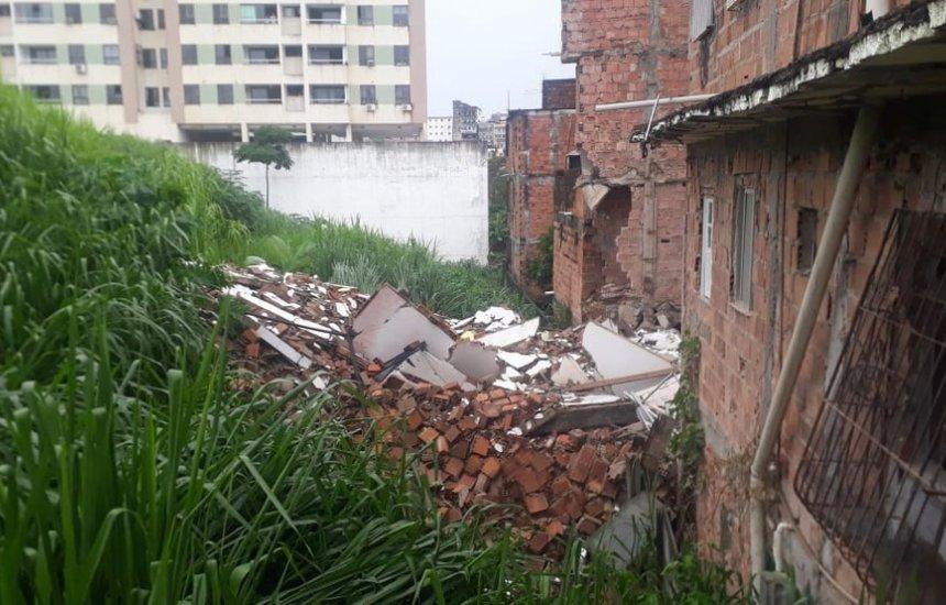 ['Eu senti o prédio rachando', disse homem que denunciou situação de prédio]