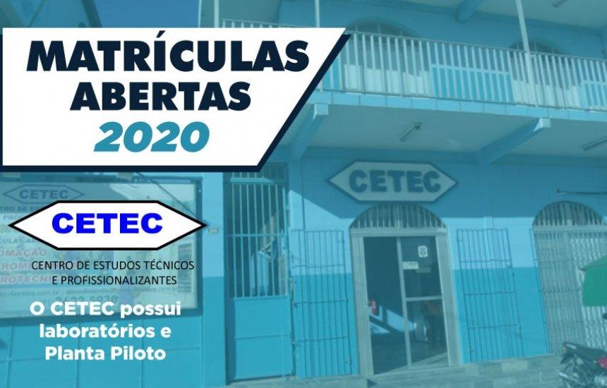 [CETEC: Desconto promocional de R$ 70,00 nas mensalidades para os cursos técnicos]