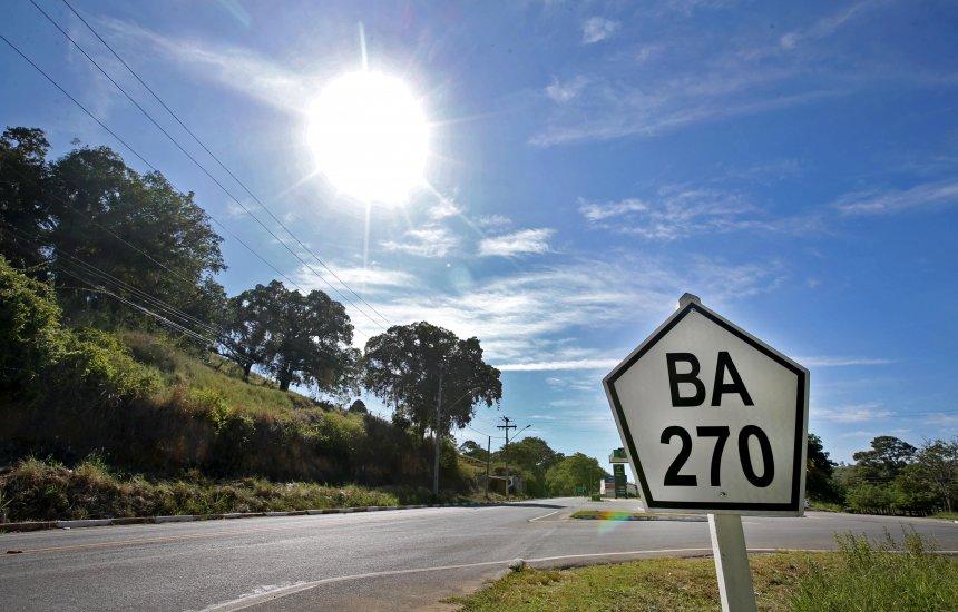 [Pavimentação da BA-270 entre Pau Brasil e Camacã é entregue pelo governador Rui Costa]