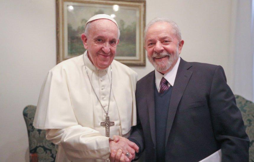 [Papa Francisco se encontra com Lula no Vaticano]