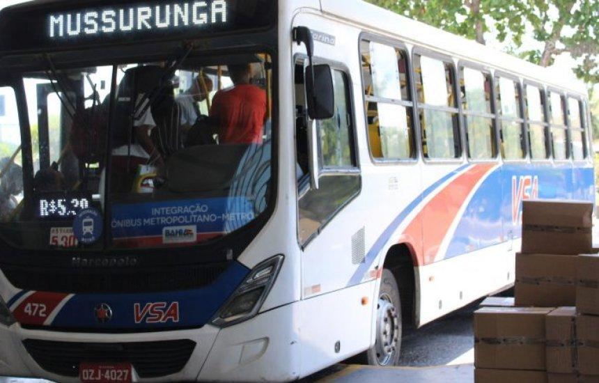 [Passageiros do ônibus VSA são assaltados por criminosos em Camaçari]